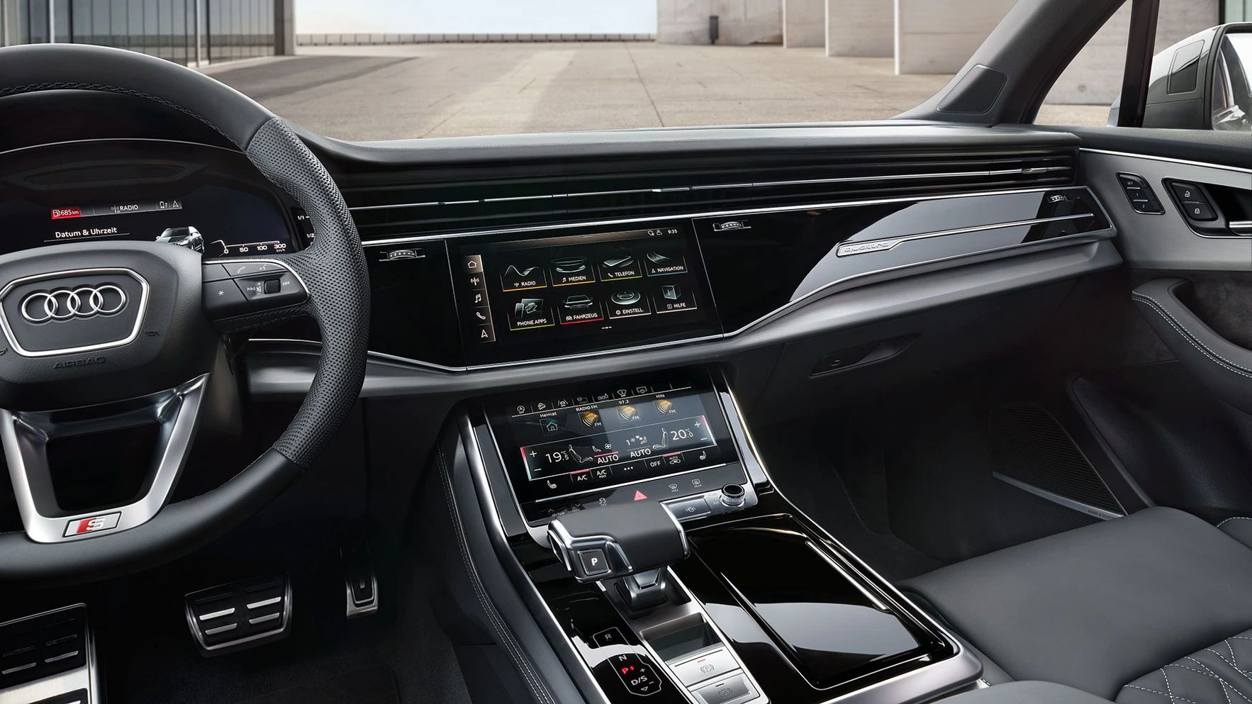 Audi Q7 Audi virtual cockpit plus